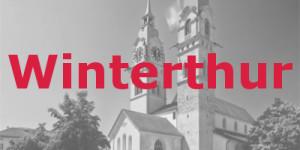 Foto einer Kirche in Winterthur